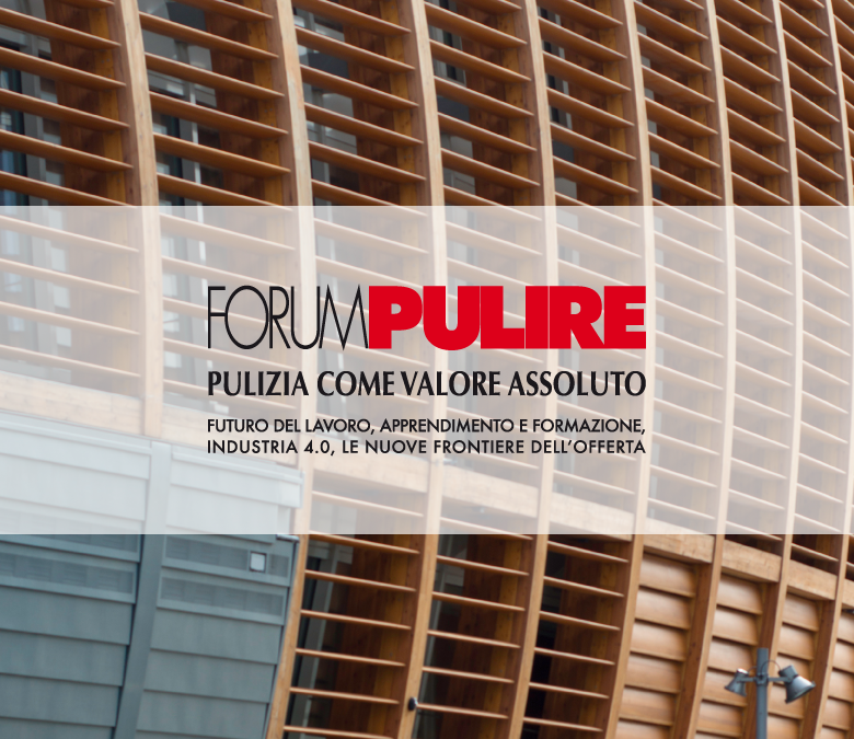 Forum Pulire 2016 presentazione indagine ONBSI