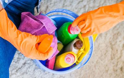 Istruzioni all'uso di sostanze pericolose nel settore delle pulizie