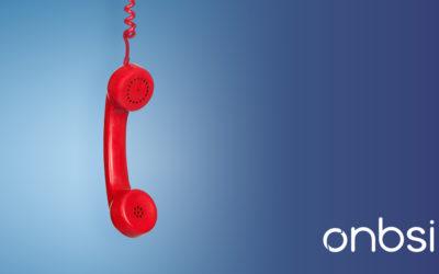 Avviso problema tecnico alla linea telefonica